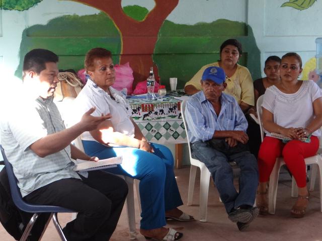 Versammlung der Indígena-Gemeinde in Salinas de Nahualapa